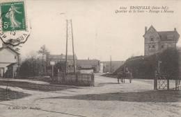 Epouville - Quartier De La Gare - Passage à Niveau- Scan Recto-verso - Otros Municipios