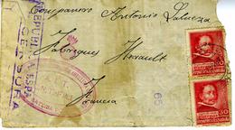 GUERRA CIVIL 1937  DELEGADO POLITICO AIT CNT FAI Desde SIETAMO  Hasta Francia Ref EL557