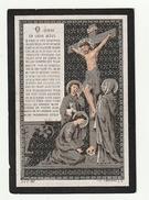 Doodsprentje Jacobus BRAECKMANS Wed. Elisabeth Heulens Contich 1811 Linth 1889 - Images Religieuses