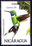 Nicaragua 1993 MNH, Birds, Sparkling-tailed Hummingbird, Timatura Dupontii,