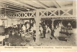 Succursale De Luxembourg ( 51 ). Chantiers D'expédition. Champagne Mercier-Epernay - Autres Communes