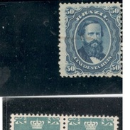 Brazil1866:Michel25used - Used Stamps