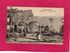 GUERRE 1914-15, GERBEVILLER, Faubourg De Moyen - Guerre 1914-18