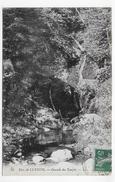 (RECTO / VERSO) ENVIRONS DE LUXEUIL - N° 68 - CASCADE DU TEMPLE - CPA VOYAGEE - Luxeuil Les Bains
