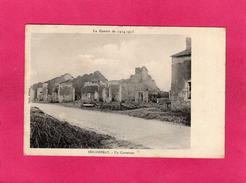GUERRE 1914-15, SEICHEPREY, Un Carrefour, 1915, (Brod) - Guerre 1914-18
