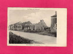 GUERRE 1914-15, SEICHEPREY, Un Carrefour, 1915, (Brod) - Guerra 1914-18