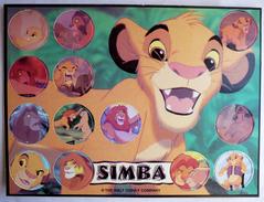PLAQUE DE POG LE ROI LION Simba - 13 POGS WALT DISNEY (2) - Disney