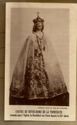 Image Pieuse Holy Card Statue De Notre Dame De La Tronchaye Eglise De Rochefort En Terre - Prière - 1911 - Imágenes Religiosas