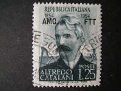 TRIESTE - AMGFTT. 1954, CATALANI, Usato, TB - Gebraucht