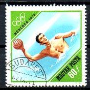 HONGRIE. N°2237 De 1972 Oblitéré. J.O De Munich/Water-polo.