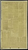 Dépêche télégraphique sur micro film, Tours 23 oct 1870. T.B.
