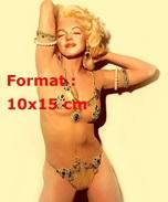 Reproduction D'une Photographie De Marilyn Monroe En Tenue Orientale Très Sensuelle - Reproductions