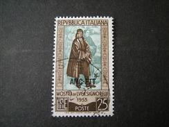TRIESTE - AMGFTT. 1953, SIGNORELLI, Usato, TB - Gebraucht