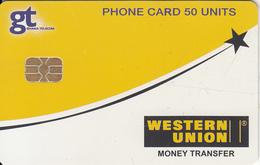 GHANA - Western Union(glossy Surface), 12/05, Used - Ghana