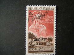 TRIESTE - AMGFTT. 1953, SANTA CHIARA, Usati, TB - Gebraucht