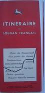 ITINÉRAIRE AU SOUDAN FRANÇAIS - MALI 1954-1955 TOURISM SITAOF. 44 PAGES. B/W PHTOS AOF AFRIQUE AFRICA - Dépliants Touristiques
