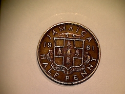 Jamaique 1/2 Penny 1961 - Jamaica