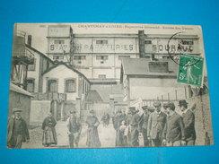 44 ) Chantenay-sur-loire - N° 1893 - Papeteries GOURAUD - Entrée Des Usines  - Année  - EDIT - Vassellier - Francia