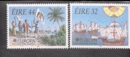 CEPT 500 Jahre Entdeckung Amerikas Irland 792 - 793 / MNH ** - 1992