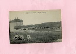Carte Postale - VERNOUX - D07 - Usines Et Lavoir - Vernoux