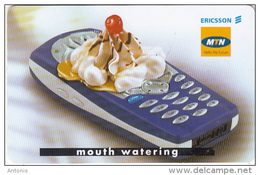 SOUTH AFRICA(chip) - Ericsson Cellular Phones 1/Mouth Watering, MTN Telecard, Chip SC9, Used