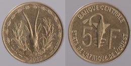 Etats De L'Afrique De L'Ouest 5 Francs XOF  CFA 2012 Origine Côte D'Ivoire - Ivory Coast