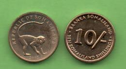 SOMALILAND - 10 SHILLING  2002  KM4 - Somalia