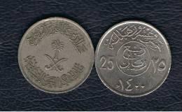 ARABIA SAUDITA - 25 Halala  1400  KM55 - Saudi Arabia