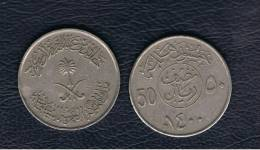ARABIA SAUDITA - 50 Halala  1400  KM56 - Arabia Saudita
