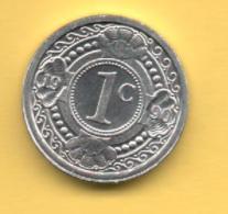 ANTILLAS HOLANDESAS - 1 Cent 1990 SC  KM32 - Antillas Nerlandesas