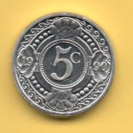 ANTILLAS HOLANDESAS - 5 Cents 1990 SC  KM33 - Antillas Nerlandesas