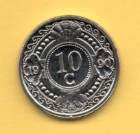 ANTILLAS HOLANDESAS - 10 Cents 1990 SC  KM34 - Antillas Nerlandesas