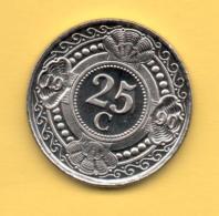 ANTILLAS HOLANDESAS - 25 Cents 1990 SC  KM35 - Netherland Antilles