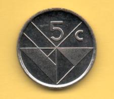 ARUBA - 5 Cents 1995 SC  KM1 - West Indies