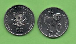 SOMALIA - 50 SCELLINI 2002 KM111 - Somalia