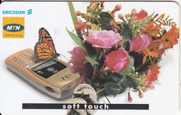 SOUTH AFRICA - Ericsson Mobiles/Soft Touch, MTN Telecard, Chip SC9, Used