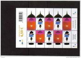 Bloc De Finlande EUROPA 2003 N°1621/1622 Art De L´affiche