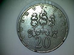 Jamaique 20 Cents 1969 - Jamaica