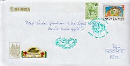 Postal History: Hungary Cover With Special Christmas Cancel: Nagykaracsony - Postmark Collection