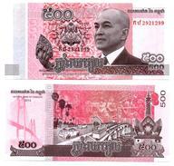 Cambodge - 500 Riels 2014 (UNC) - Cambodia