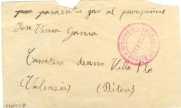 GUERRA CIVIL Frontal  De C.N.T. F.A.I. COLUMNA DE HIERRO BRIGADAS INTERNACIONALES    Ref EL564