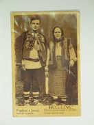 UKR 314 Jasiny Costume Bukowina 1920 Ed M Rosenthal - Ukraine