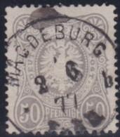 Deutsches Reich   .   Michel   .      36          .          O    .         Gebraucht - Allemagne