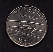 2001 -north Caeolina - 1999-2009: State Quarters