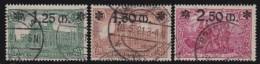 Deutsches Reich   .   Michel   .     116/118        .          O    .         Gebraucht - Deutschland