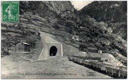73 Ligne De Moutiers à Bourg-Saint-Maurice - Souterrain De La Saulcette    (Recto/Verso) - France