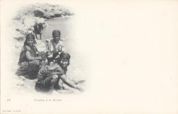 Algérie - Fillettes à La Rivière - Précurseur - Kinderen