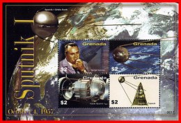GRENADA 2006 FIRST SPACE SATELLITE  M/S  MNH ** KOROLYOV - Colecciones