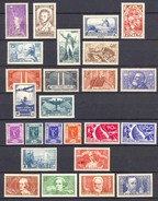 FRANCE ANNEE COMPLETE NEUVE** N° 309/33 TBE 1936