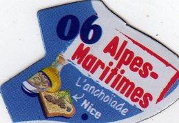 Magnets Magnet Le Gaulois Departement France 06 Alpes Maritimes - Tourism